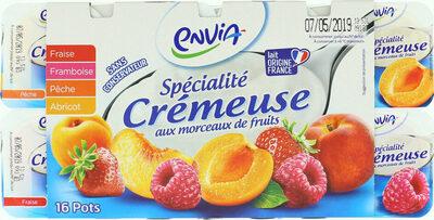 Spécialité crémeuse avec morceaux de fruits - Produkt - fr