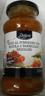 Tomato sauce with arugula and parmigiana reggiano cheese, rucola & parmigiano reggiano - Prodotto - it