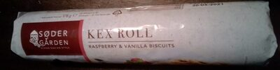 Kex Roll Raspberry & Vanille biscuits - Product - fr