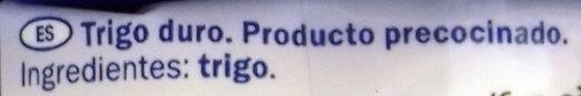 Bulgur - Ingredientes - es