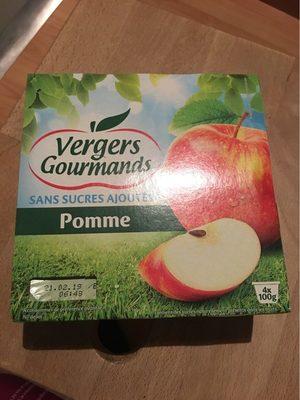 Pommes sans sucres ajoutés pomme - Product
