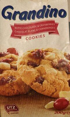 White Chocolate & Cranberry Cookies - Produkt - en