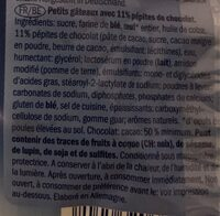Mini muffins - Informations nutritionnelles - fr