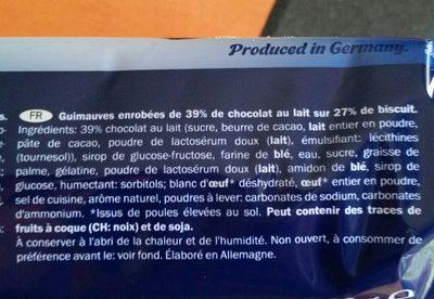 Chocolaté Teacakes - Ingrediënten