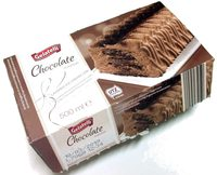 Chocolate Flavour Layered Ice Cream Log - Product