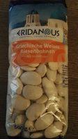 Haricots blancs géants - Produit - fr