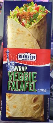 Wrap Veggie Falafel légumes - Product