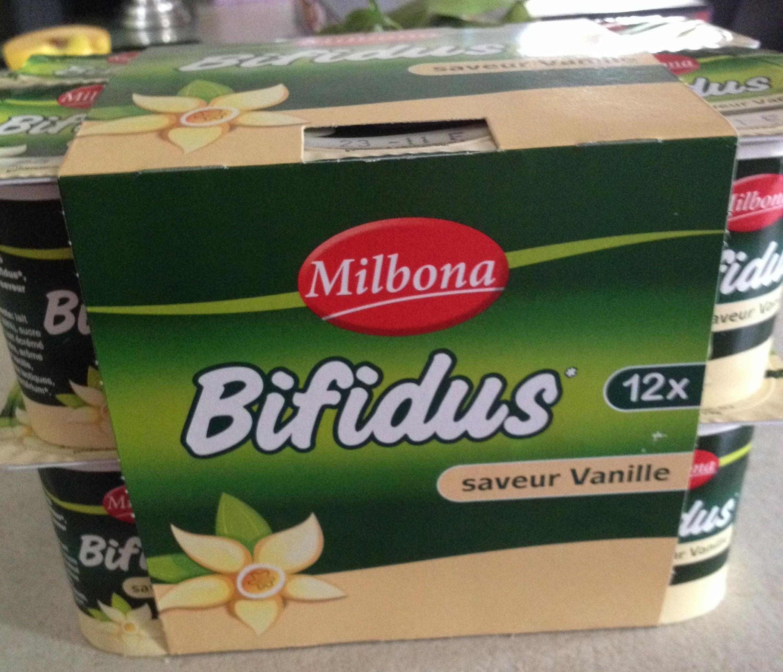 Bifidus saveur Vanille (12 x) - Produit