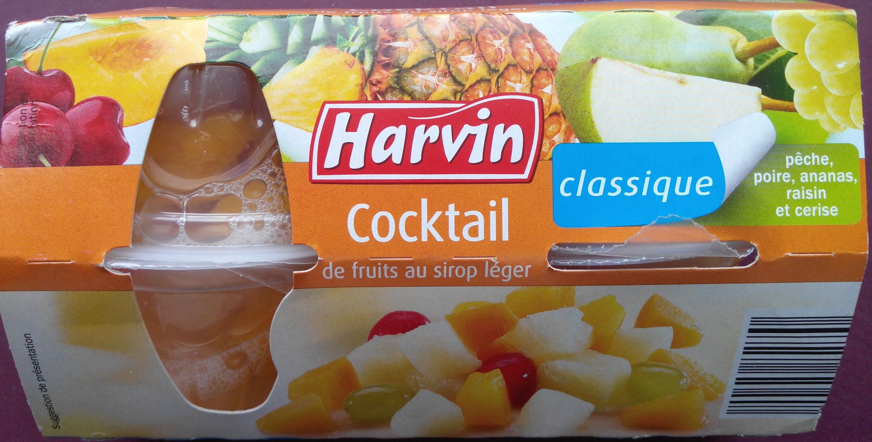 Classique - Cocktail de fruits au sirop léger - Produit - fr
