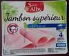 Jambon supérieur (-25 % de sel) - Produit