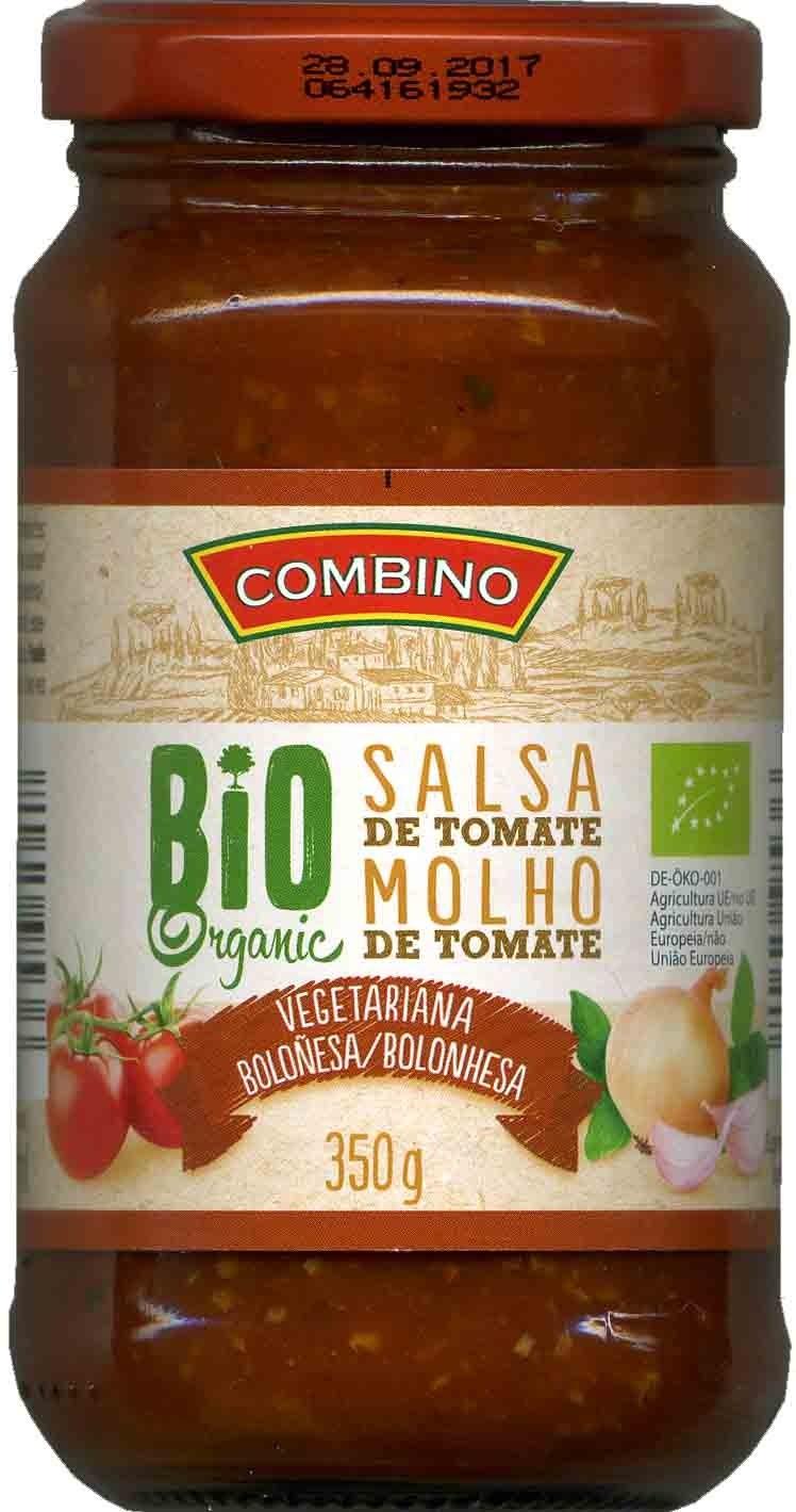 Salsa de tomate boloñesa vegetariana Bio - Product
