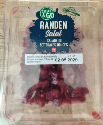 Salade de betteraves rouges - Product - fr