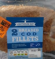 Breaded COD Fillets - Product