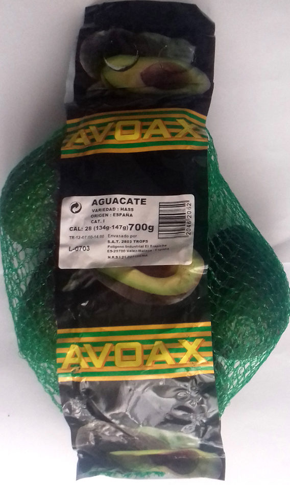 Aguacate - Producte