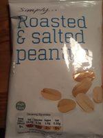 Roasted & Salted Peanuts - Produit - fr