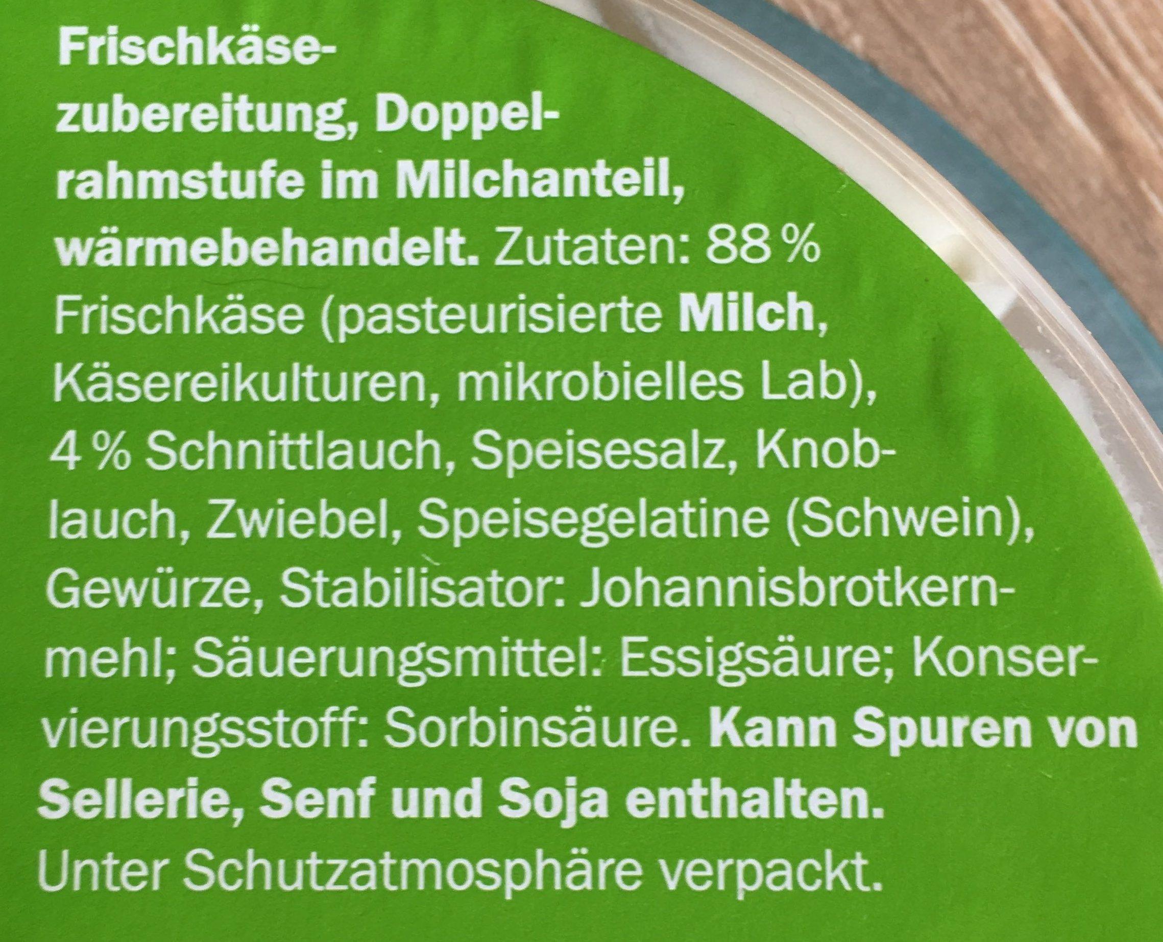 Schnittlauch Gartenfrisch - Ingrediënten - de