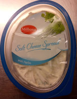 Milbona Soft Cheese Spread with Herbs - Product