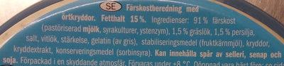 Milbona Soft Cheese Spread with Herbs - Zutaten