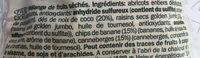 Mélange de Fruits Séchés - Ingrédients - fr
