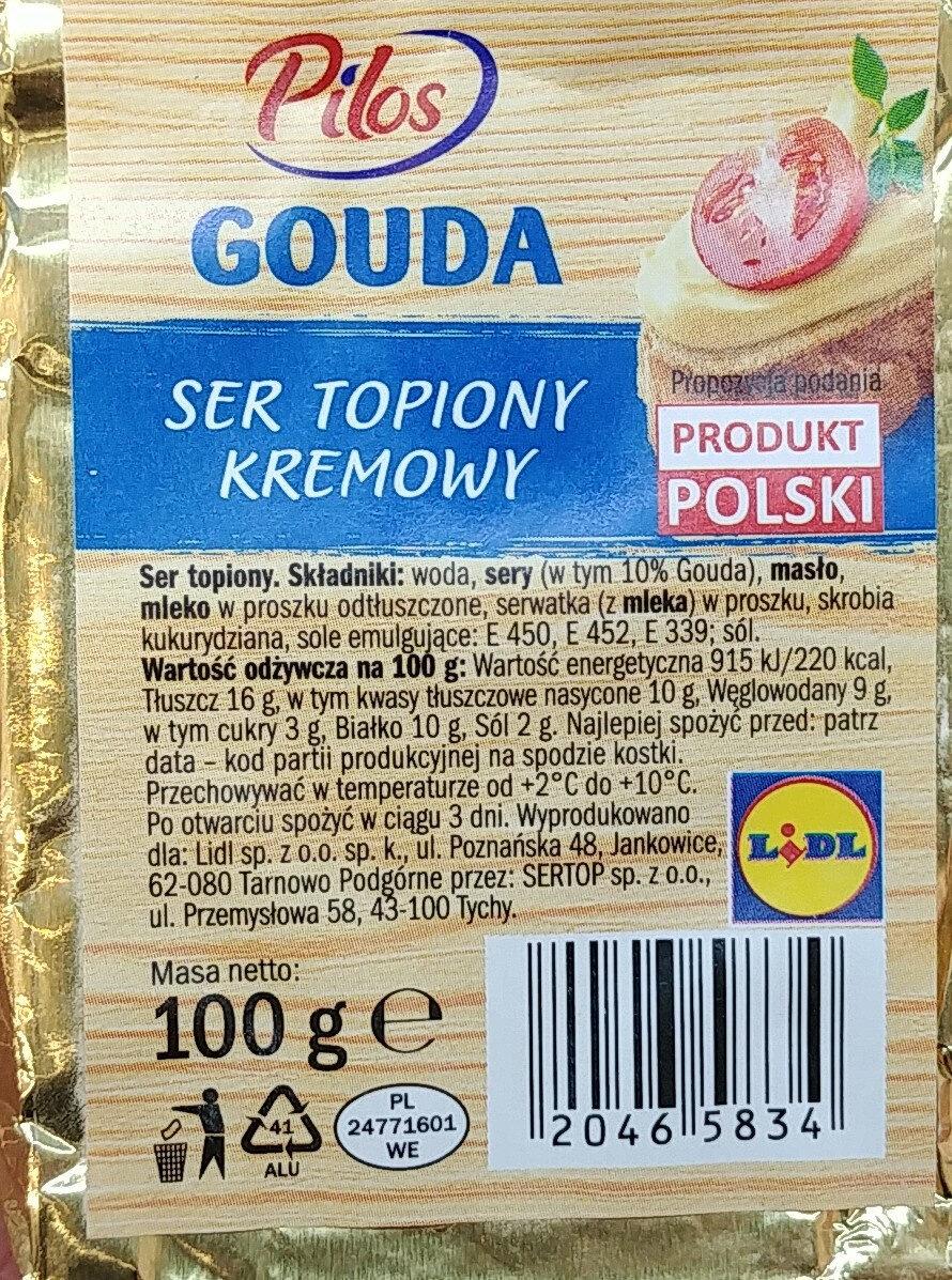 Gouda - ser topiony kremowy - Produit - pl