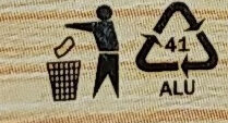 Gouda - ser topiony kremowy - Instruction de recyclage et/ou information d'emballage - pl