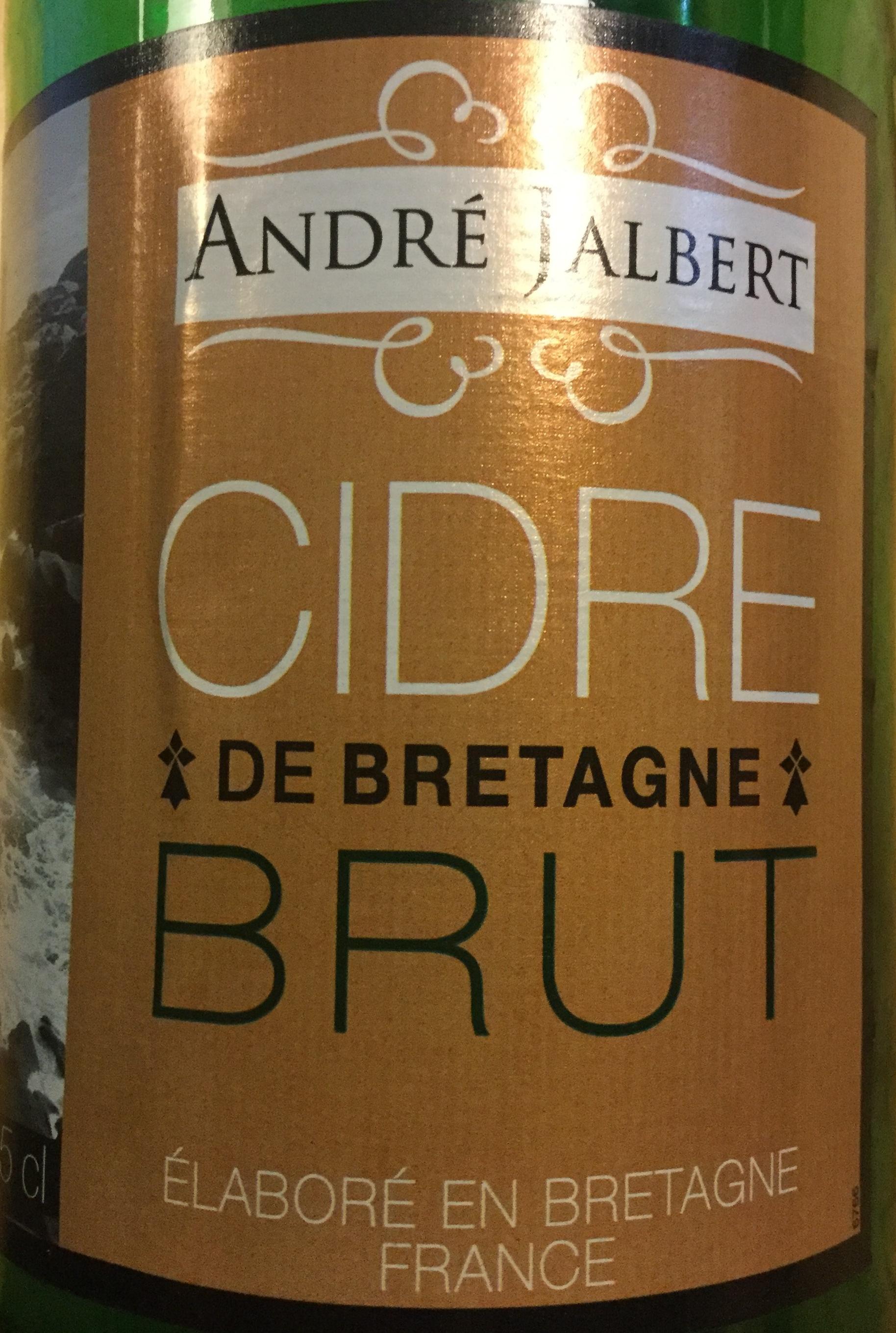 Cidre brut - Product - fr