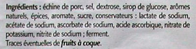 Coppa - Ingrédients - fr