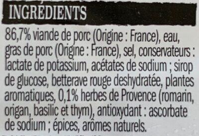 Farce à légumes - Ingrediënten - fr