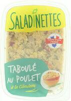 Taboulé poulet ciboulette - Produit - fr