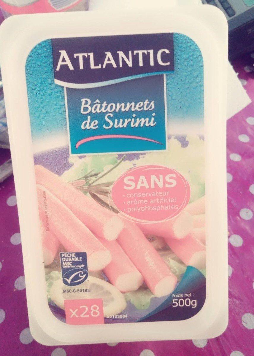 Atlantic bâtonnets saveur crabe - Product
