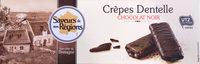 Crêpes dentelle Chocolat noir - Product