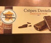 Crêpes dentelle Chocolat noir - Product - fr