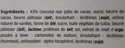 Crêpes dentelle Chocolat noir - Ingredients
