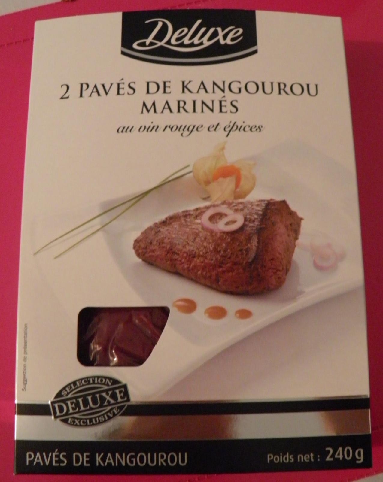 2 pavés de kangourou marinés au vin rouge et épices Deluxe - Produit - fr