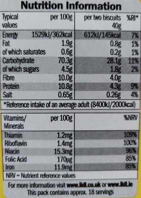 Bixies - Informations nutritionnelles - fr