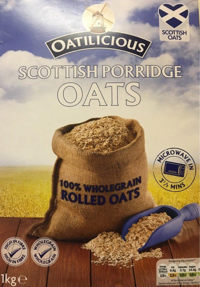 Scottish porridge oats - Product