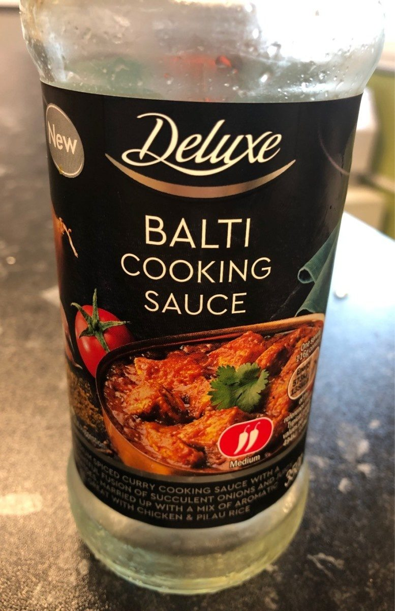 Balti cooking sauce - Produit - fr
