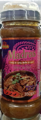 Salsa de curry Madrás