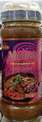 Salsa de curry Madrás - Producte - es