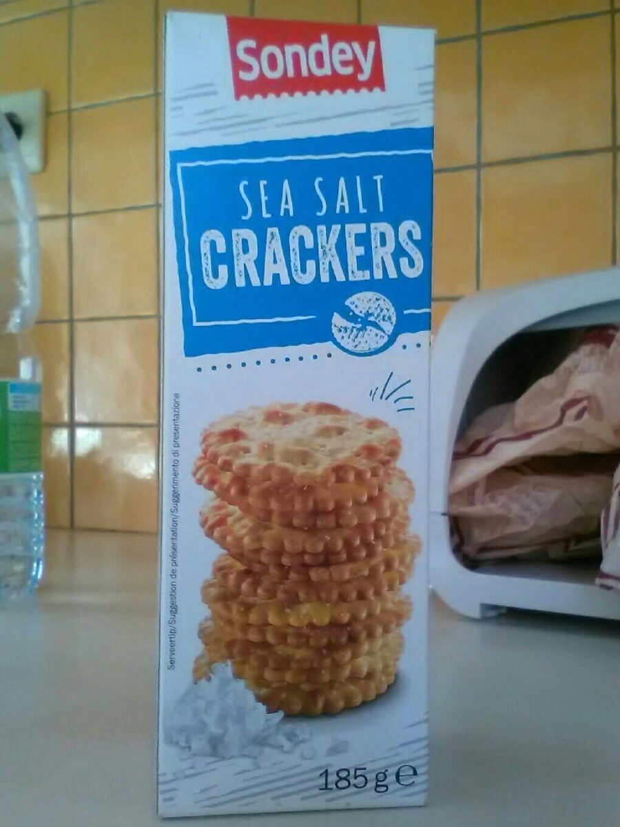 Sea salt crackers - Product - en