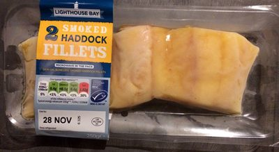 2 smoked haddock fillets - Product