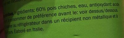 Chickpeas - Ingredients