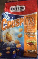 Cruspies extra crunchy peanuts hamburger flavour - Produit