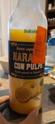 Zumo de naranja con pulpa - Producto - es