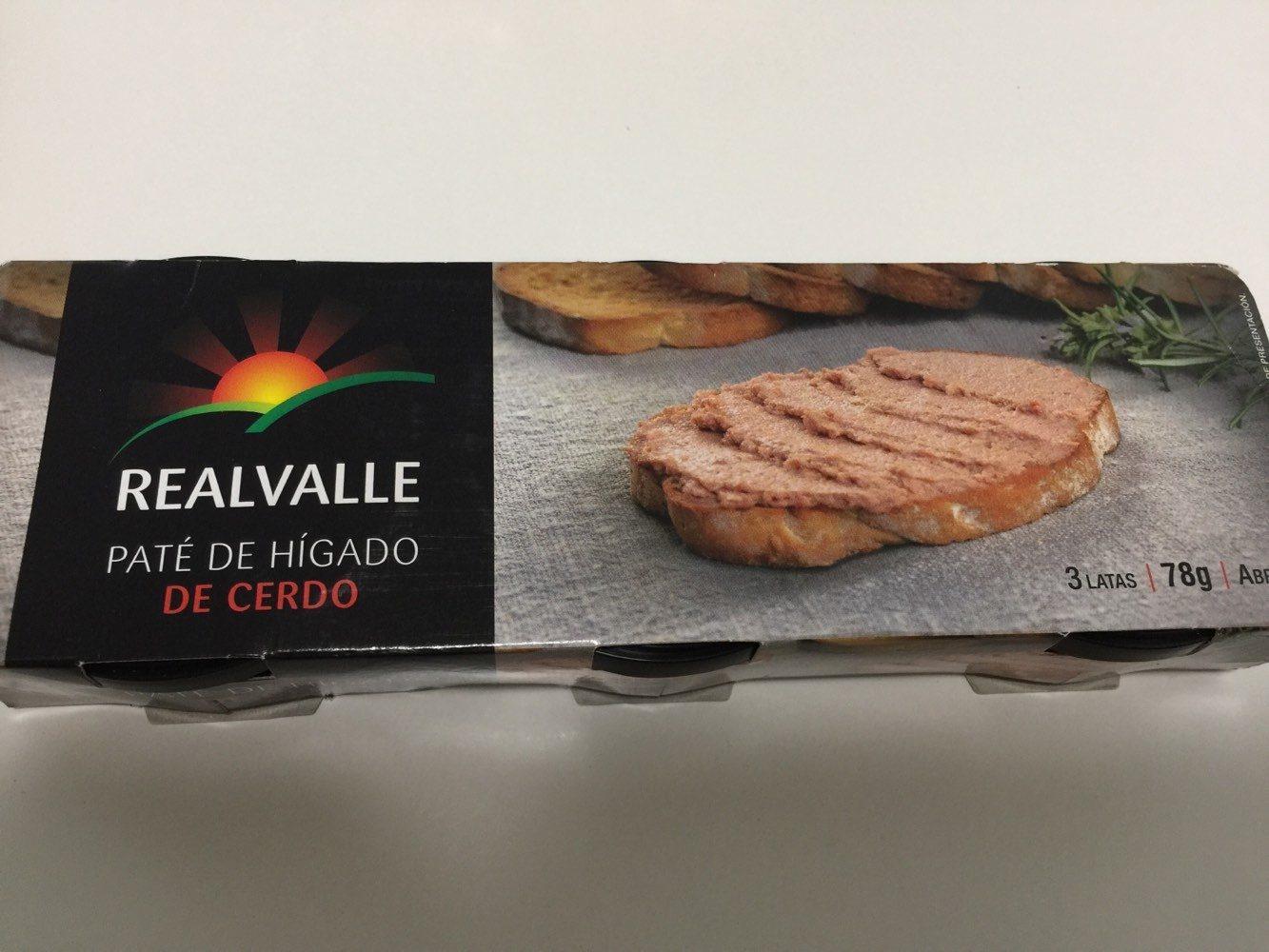 Paté de hígado de cerdo - Product