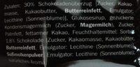 Schoko Toffee - Ingredienti - de