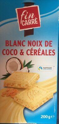 Blanc Noix de coco & céréales - Product - fr