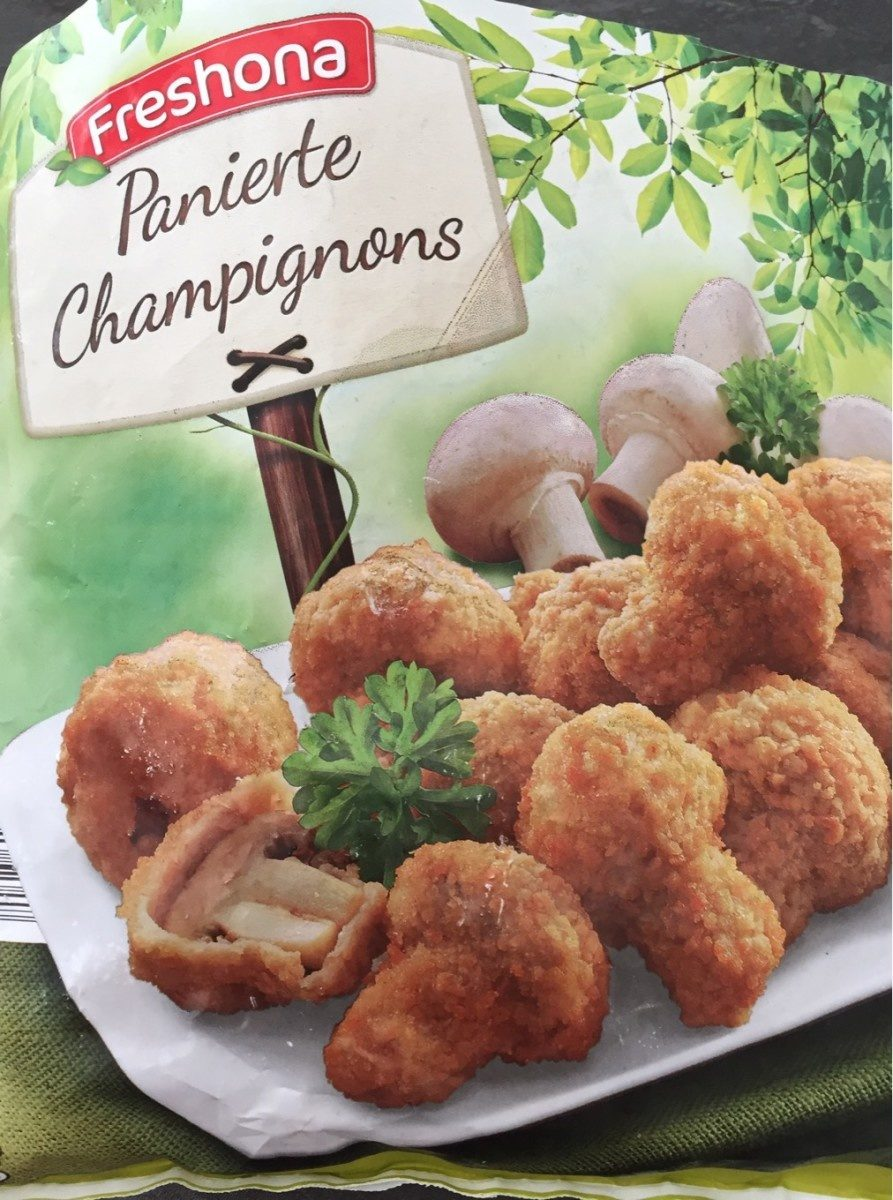 Panierte Champignons - Product - fr