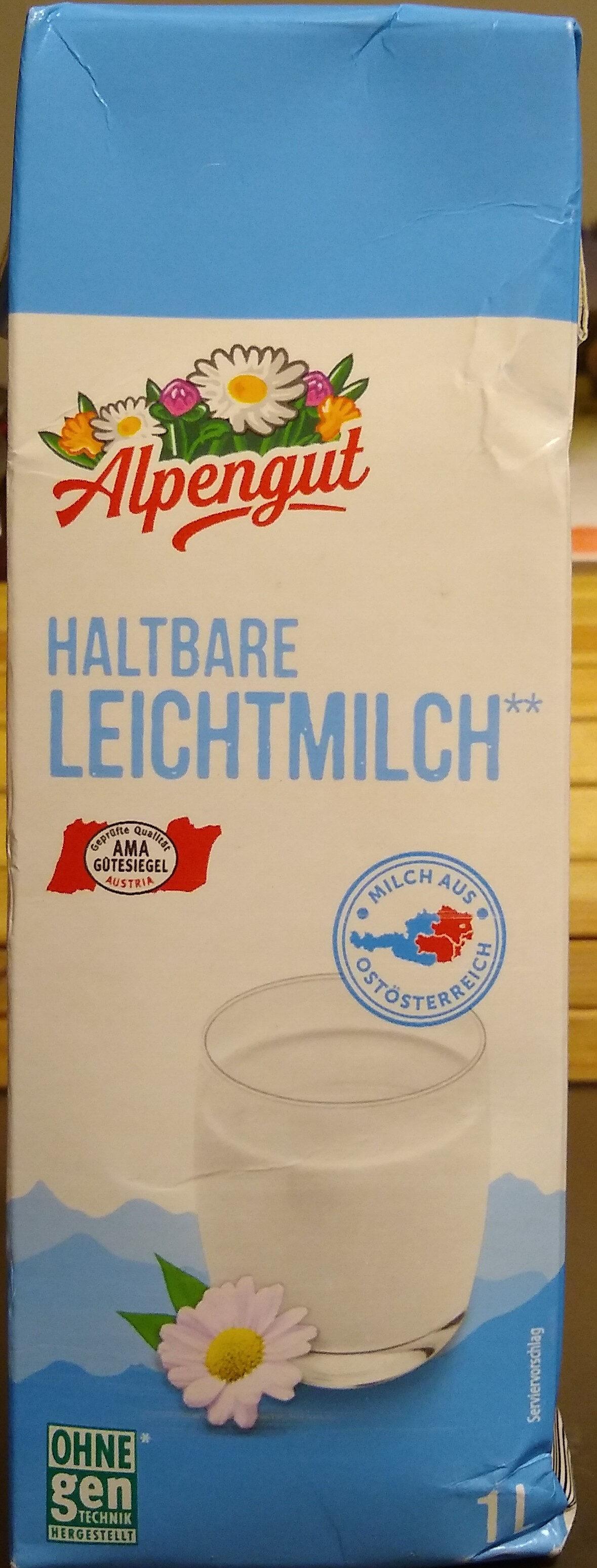 Haltbare Leichtmilch - Product - de
