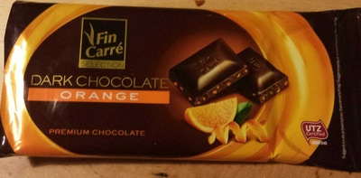 Dark chocolate orange - Product - fr